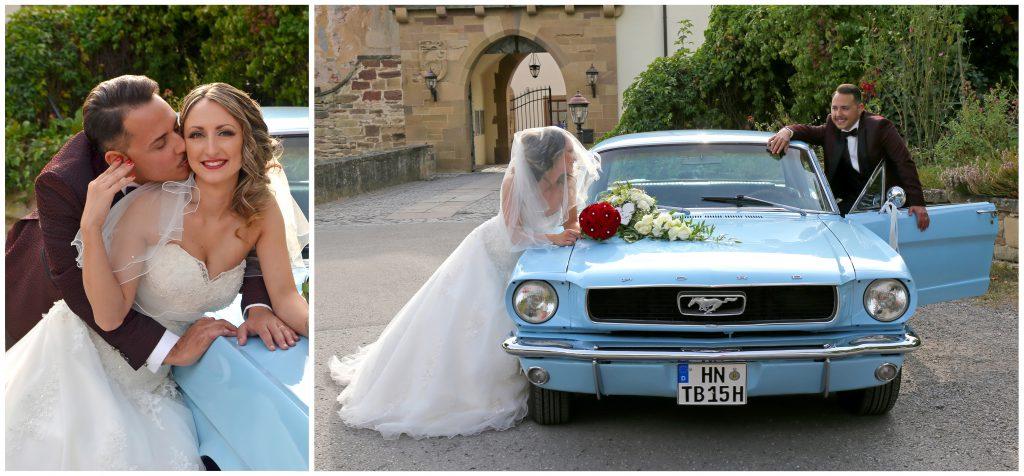 Collage Hochzeit