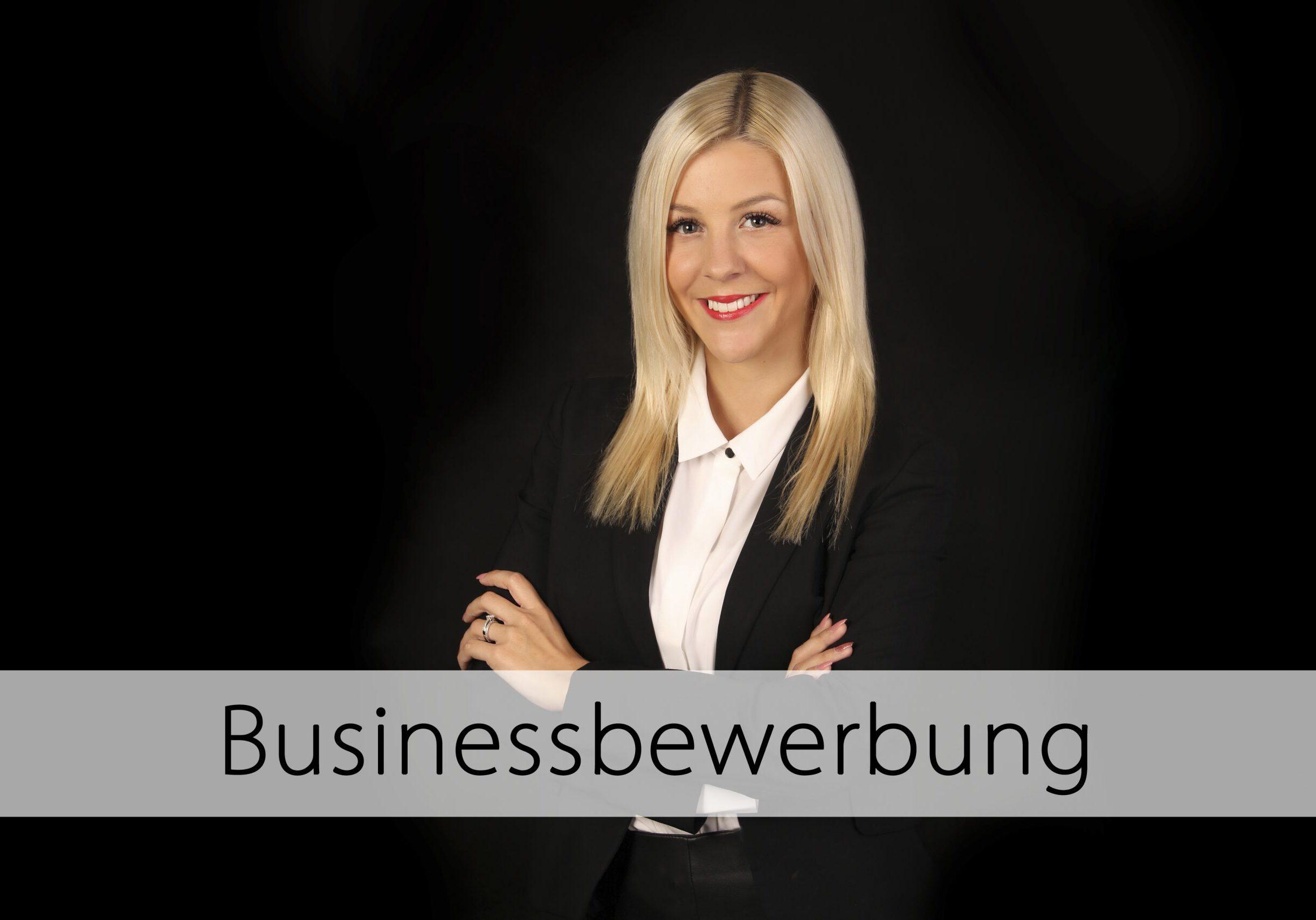 Businessbewerbung